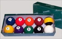 pool ballen Aramith Nineball 57,2mm